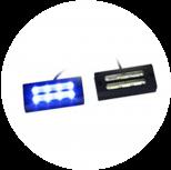 Сигнальные светодиодные фары-вспышки
