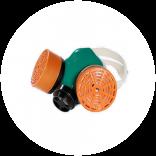 Респираторы, запасные фильтры