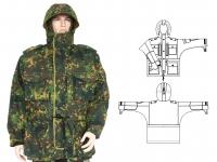 Куртка зимняя 2-33 излом, мох