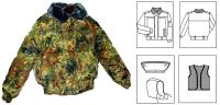 Куртка зимняя пограничная ФСБ 3-71/2