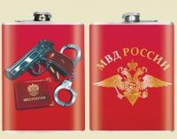 Фляжка сувенирная МВД России