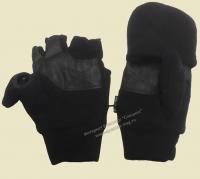 Перчатки варежки для рыбалки Grand Sierra чёрные