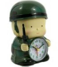 Часы-будильник «Солдат»