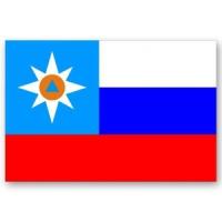 Флаг МЧС 70х105 / 90х135