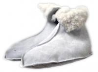 Носки меховые белые