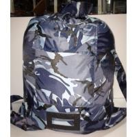 Вещевой мешок 100 л синий камуфляж