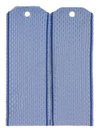 Погоны ФСБ  голубые вышитые (рядовой состав)