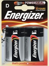 Батарейки большие Energizer размер D (LR20)