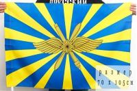 Флаг ВКС России 70х105