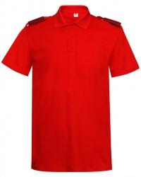 """Рубашка Поло """"Юнармия"""" с погонами"""
