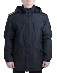 Куртка ДС Магеллан МПА-78-02 чёрная