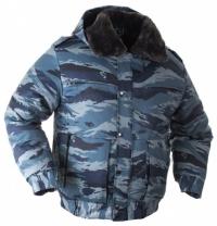 """Куртка зимняя """"Снег"""" серый камуфляж с подстёжкой"""