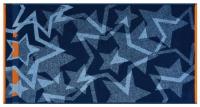 """Полотенце сувенирное махровое """"Синие Звёзды"""""""