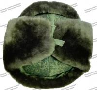 Шапка ВКБО (ВКПО) офицерская с кокардой натуральный мех