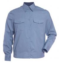 Рубашка детская форменная голубая (длинный рукав)