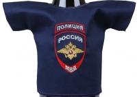 Сувенир на бутылку (рубашка Полиция)