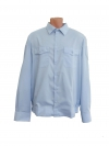 """Рубашка форменная """"Полиция"""", голубая, длинный рукав"""