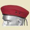Берет Бесшовный Красный Военная Полиция