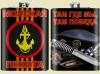 Фляжка сувенирная Морская Пехота Берет