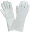 Перчатки спилковые комбинированные тонкие