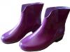 Полусапоги резиновые женские «Леди» пурпурные