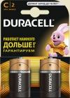 Батарейки большие Duracell размер C (LR14)