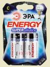Батарейки большие ЭРА размер C (LR14)