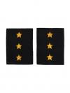 Фальшпогоны Полиции темно-синие, Старший прапорщик