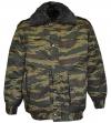 """Куртка зимняя """"Снег"""" зеленый камуфляж с подстёжкой"""