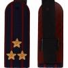 Погоны ФСИН темно-синие, Полковник, вышитые звезды