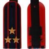 Погоны Полиции темно-синие, Полковник, вышитые звезды