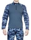 Рубашка тактическая МПА-12 синяя цифра(точка)