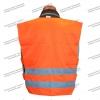 Жилет сигнальный «Дорожник» оранжевый