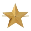 Звезда на погоны мет. 20 мм золотая