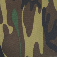 Ткань Грета 210 зелёный камуфляж