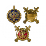 Эмблемы петличные на погоны, метал