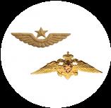 Эмблема на головные уборы (эмблема на тулью)