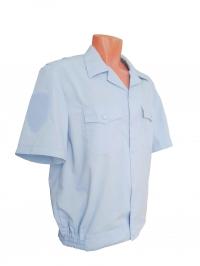 """Рубашка форменная """"Полиция"""", с коротким рукавом, голубая"""