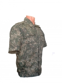 Рубашка зелёная цифра, короткий рукав