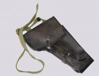 Кобура Поясная под сигнальный пистолет СП - 81 Арт. К-15Б