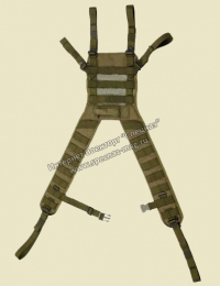 Лямки плечевые ЛП PLSE Molle со спинкой ССО