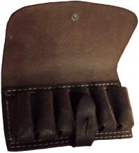 Подсумок кожаный 20 калибр