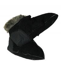 Носки меховые чёрные