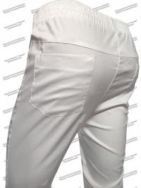 Брюки женские, медицинские мод. 201 С, Белые