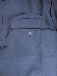 """Нагрудный карман - Костюм """"Полиция"""", Офисный, Темно-синий, тк. Габардин"""