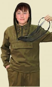 """противомоскитная сетка - Костюм детский """"Зверобой"""" противоэнцефалитный ткань палатка"""