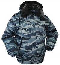 "Куртка зимняя ""Снег"" серый камуфляж Р 51-09"