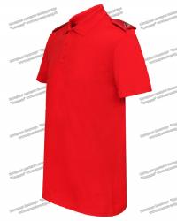 """Рубашка Поло """"Юнармия"""" с фальшпогонами"""