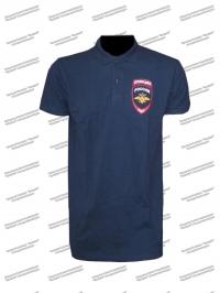 "Рубашка поло ""Полиция"" с шевроном, короткий рукав"
