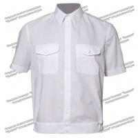 Рубашка РЖД форменная белая короткий рукав